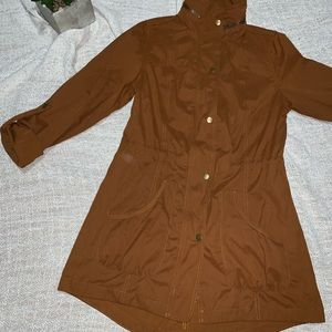 Mossimo Women's Brown Long Sleeve Water Resistant